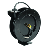 T&S Brass 5HR-242-GH Equip Open Hose Reel Powder Coated Steel