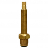 Royal Brass Tub & Shower Stem With Nipple -RH Hot & Cold