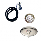 Leonard 7600-C-60-1 HYDROTHERAPY CONCEALED UNITS (CHROME PLATED