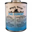 PVC Cement Clear -Medium Bodied -1/2 Pint Bottles -(Case of 24)
