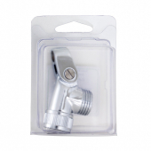 C-PSC378C, Solid Brass Chrome Plated Deluxe Swivel Connector
