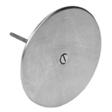Zurn CO2530-5<br>  Round Access Cover 5in Dia.