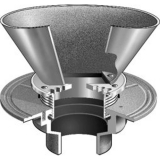 MIFAB  F1100-EG OVAL FUNNEL FLOOR DRAIN FOR NON- FLOOR AREAS