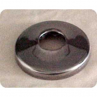 "F120, Shower Arm Flange. 1/2"" Polished Stainless Steel"