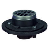 Zurn FD2251-CI-NH2<br> Cast Iron Shower Drain No-Hub Outlet