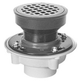 Zurn FD-2340 Medium-Duty PVC Adjustable Floor Drain Collar Only