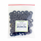 FW2911-100, Flat 1/4L faucet washer. 100 per pack.