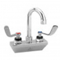 CHG KL45-4000-SE4 Wall Mount Faucet, 4'' Centers, 3.5'' Swing