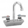 CHG KL45-4001-RE1 Wall Mount Faucet4''Centers 8''Rigid Gooseneck