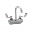 CHG KL45-4100-RE4 Wall Mount Faucet4''Center3.5''Rigid Gooseneck