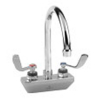CHG KL45-4102-SE4 Wall Mount Faucet, 4'' Centers, 6'' Swing