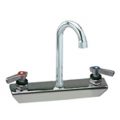 CHG KL45-8100-RE1 Wall Mount Faucet8''Centers3.5''Swing Goosenec