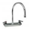 "CHG KL45-8101-SE1 Wall Mount Faucet 8"" Centers 8.5"" Swing"