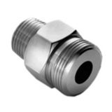CHG KL50-X127 Low Lead 1/4'' Hose Adapter