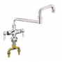 CHG KL51-9018-SE1 Dble Pantry Faucet1/2''Inlet18'' Dble Jointed