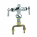 CHG KL51-Y001 Dble Pantry Faucet Body, Single Hole, 2 Hdle Fauce
