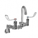 CHG KL54-1100-RE4 Wall Mount Faucet Flushing Rim 8'' Centers