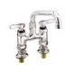 "CHG KL57-4106-SE1 Elevated Deck Mount Faucet 4"" Centers"