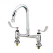 "CHG KL61-8000-RE4 Elevated Deck Mount Faucet 8"" Centers"