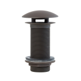 LP66100-ORB, Dome Cover Drain 4'' Long shank oil rubbed bronze