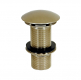 LP66100-SN, Dome Cover Drain 4'' Long shank Satin Nickel Finish