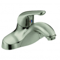 Lavatory Lever Handle ADA Faucet w/ Pop Up Satin Nickel