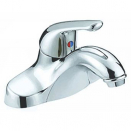 Lavatory Lever Handle ADA Faucet w/ Pop Up Chrome