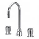 "Zurn Z867A0 Widespread Metering Faucet With 3-1/2"""" Gooseneck."