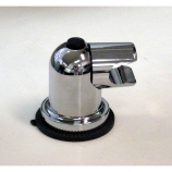 PSC-145, Suction cup Shower bracket, Chrome Plated Finish