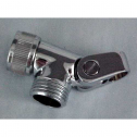 PSC378C, Solid Brass Chrome Plated Deluxe Swivel Connector