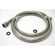 PSH5980-SN, Personal Shwr Hose, Stretch feature S.S 59'' to 80''