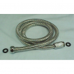 "PSH59SS, 59""Stainless Pers Shwr Hose, double lock,c/p Brass Nut"