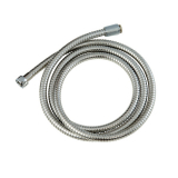 80'' Personal Shower Hose s/s double lock w/c/p Brass N