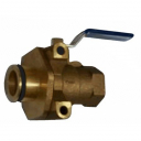 Wilkins Ball Valve 375XL Inlet FNPT to Vessel O-ring 1IN Lead Fr