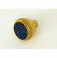 S188GG, Clog Resistant Shower Head Gold & Gold Finish