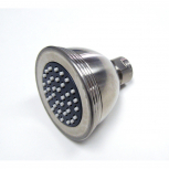 S188M-SN-PVD, ELITE Shower Head With Modified Ring Satin Nickle