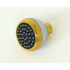 S188SG, Clog Resistant Shower Head Chrome & Gold Finish