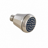 S198SN, Shower Head 12 SIDES, SN Finish