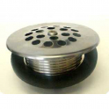 SA109, Drain w/dome grid, SS strainer, dome grid, coarse thread