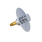TD2540-1, Brass Tub Drain with dual Threaded Post