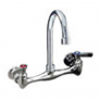 CHG TLL13-8002 Wall Mount Faucet, 8'' Centers, 6'' Swing  Spout