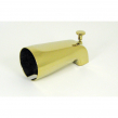 TS134PVD, Front Diverter Spout 1/2'' IPS Nose Mount Pol. Brass P