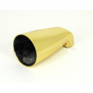 TS137GD, Tub Spout 1/2'' IPS Nose Mount Gold Finish