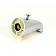 TS138, Diverter Spout, Rear Mt Pers. Shower Conn. Bottom Outlet