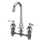 "Zurn Z831A1 Widespread With 3-1/2"""" Gooseneck And Lever Handles."