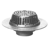 Zurn ZC107-3NH-C 20InDia Wide Flange Roof Drain w/ CI Dome