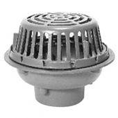 Zurn ZC121-4NL-89-C-R 12In Dia Roof Drain CI Dome-2In Water Dam