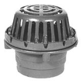 Zurn ZC125-3IP-90 8-3/8In Dia Roof Drain C.I. Dome-Side Outlet