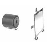 Zurn Z1443-2 Wall Cleanout w Square Access Cover and Frame 2 in