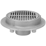 Zurn Z1730-3NH<br> 9In Dia Stainless Steel Floor Drain Shallow